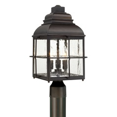 Capital Lighting Lanier Old Bronze Post Light
