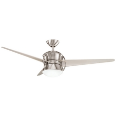 Kichler Ceiling Fan with Light Kit in Steel Finish
