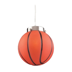 Basketball Mini-Pendant Light