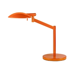 Modern Pharmacy Lamp in Gloss Orange Finish