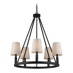 Feiss Lighting Lismore Oil Rubbed Bronze Chandelier