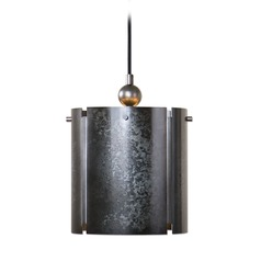 Uttermost Norton 1 Light Galvanized Metal Pendant