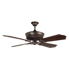 Craftmade Lighting Monroe Oiled Bronze Gilded Ceiling Fan Without Light