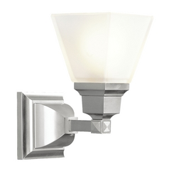 Livex Lighting Mission Brushed Nickel Sconce