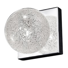 Mid-Century Modern Sconce Stainless Steel Opulence by Access Lighting