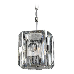 Kalco Giada Brushed Stainless Steel Mini-Pendant Light