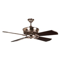 Craftmade Lighting Monroe Tarnished Silver Ceiling Fan Without Light