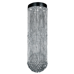 ET2 Lighting Modern Flushmount Light in Polished Chrome Finish E20792-20