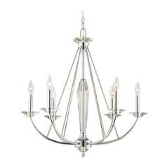 Chandelier in Chrome Finish