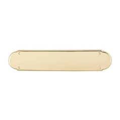 Push Plate in Polished Brass Finish
