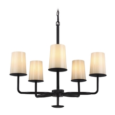 Feiss Huntley 5-Light Chandelier in Oil Rubbed Bronze
