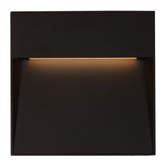 Modern Black LED Outdoor Wall Light 3000K 794LM