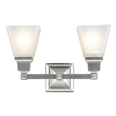 Livex Lighting Mission Brushed Nickel Bathroom Light