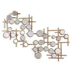 Uttermost Britton Mirrored Wall Art