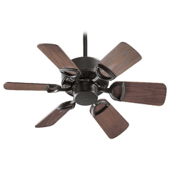 Quorum Lighting Estate Patio Old World Ceiling Fan Without Light