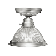 Livex Lighting Brushed Nickel Semi-Flushmount Light