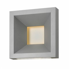 Hinkley Lighting Plaza Titanium LED Outdoor Wall Light