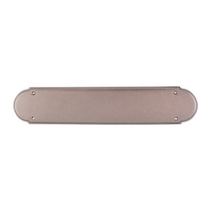 Push Plate in Antique Copper Finish