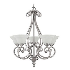 Capital Lighting Chandler Matte Nickel Chandelier