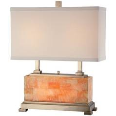 Lite Source Lighting Quinn Table Lamp with Rectangle Shade