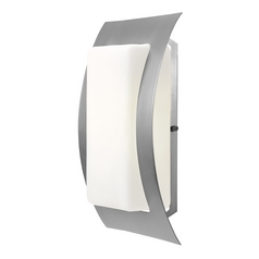 Access Lighting Eclipse Satin Nickel Outdoor Wall Light