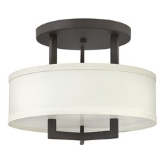 Hinkley Lighting Hampton Buckeye Bronze Semi-Flushmount Light