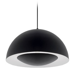 Modern Black LED Pendant 3000K 1000LM