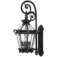 Minka Lavery Stratford Hall Heritage with Gold Highlights Outdoor Wall Light