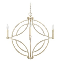 Capital Lighting Mercer Winter Gold Pendant Light