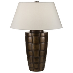 Fine Art Lamps Recollections Bronze with Golden Mist Highlights Table Lamp with Empire Shade