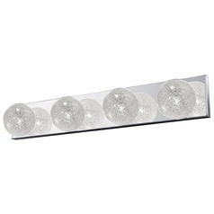 Access Lighting Opulence Stainless Steel Bathroom Light