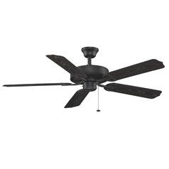Fanimation Fans Aire Decor Black Ceiling Fan Without Light