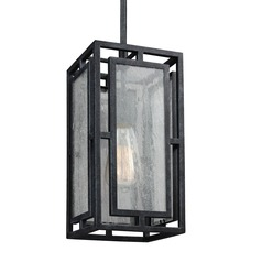 Feiss Prairielands Dark Weathered Zinc Mini-Pendant Light