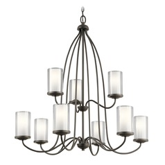 Transitional Chandelier Olde Bronze Lorin by Kichler Lighting
