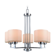 Lite Source Lighting Darra Chrome Chandelier