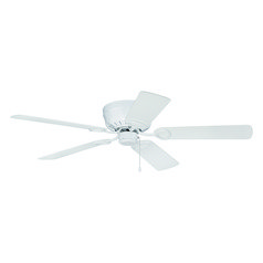 Craftmade Lighting Pro Universal Hugger White Ceiling Fan Without Light