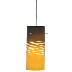 Italian Art Glass Mini-Pendant Light