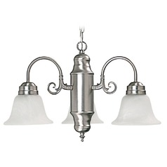 Capital Lighting Matte Nickel Mini-Chandelier