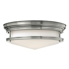 Hinkley Lighting Hadley Antique Nickel Flushmount Light