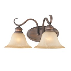 Golden Lighting Lancaster Rubbed Bronze Bathroom Light