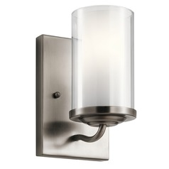 Transitional Sconce Pewter Lorin by Kichler Lighting