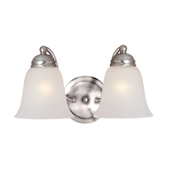 Maxim Lighting Basix Satin Nickel Bathroom Light
