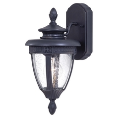 Minka Lighting Outdoor Wall Light with Clear Glass in Heritage Finish 8950-94