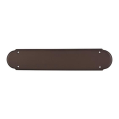 Push Plate in Oil Rubbed Bronze Finish