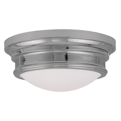 Livex Lighting Astor Chrome Flushmount Light