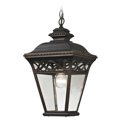 Thomas Lighting Mendham Hazelnut Bronze Outdoor Hanging Light