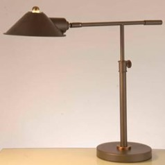 Lite Source Najinca Dark Bronze Swing Arm Lamp