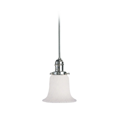 Hudson Valley Lighting Mini-Pendant Light with White Glass 3102-PN-7200