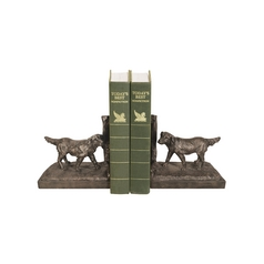 Sterling Lighting Retriever Dog Decorative Bookends 93-7307