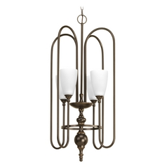 Progress Lighting Revive Antique Bronze Pendant Light